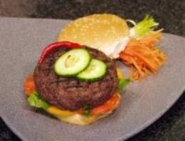 Stuffed Gourmet Burger